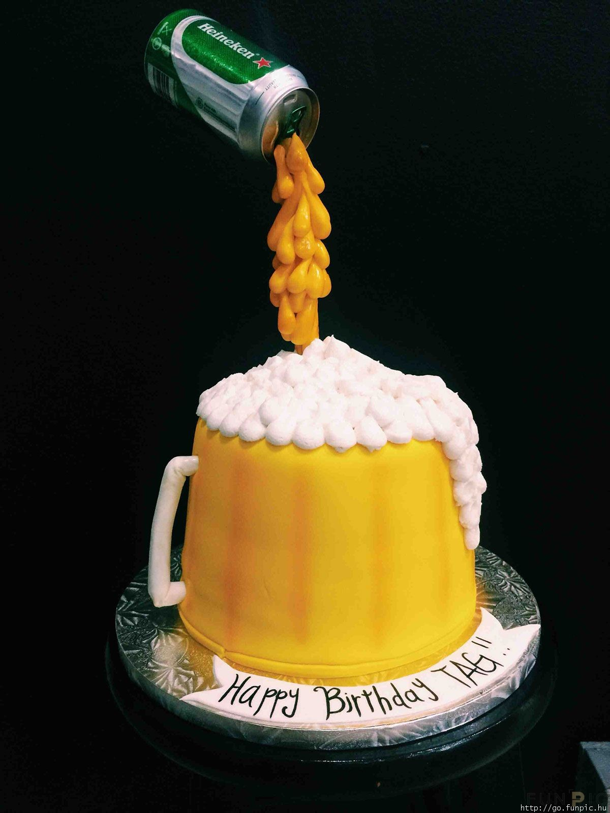 Admirable Beer Birthday Cake Funpic Hu Funny Birthday Cards Online Elaedamsfinfo